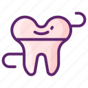 dental, flossing, hygiene, tooth