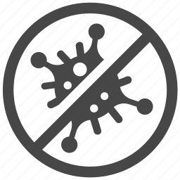 antibacterial, antivirus, bacteria, bacterial, germ, hygiene, virus icon