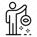 family, hypnosis, logo, man, medical, silhouette, spa icon