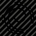 circular, hypnosis, ornament, person, swirl, texture, vortex icon