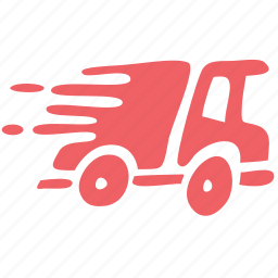 delivery, fast, logistic, post, quick, ship, shipping icon