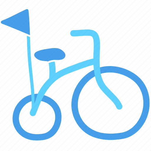bicycle, bike, cycling, kid, toy, transport, transportation icon