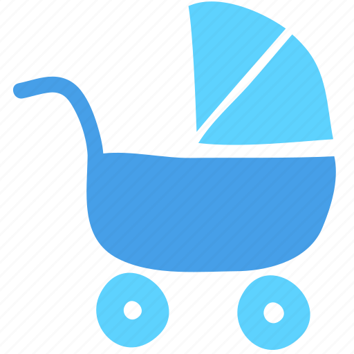 baby, baby car, carriage, cart, child, newborn, stroller icon