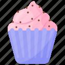 gelato, ice cream, strawberry cream, strawberry dessert, strawberry ice cream icon