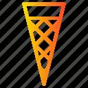 cone, cream, ice, ice cream, summer, sweet icon