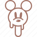 cream, ice, ice cream, icecream, mickey mouse, popsicle, мороженое icon