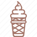 cream, ice, ice cream, icecream, popsicle, мороженое icon