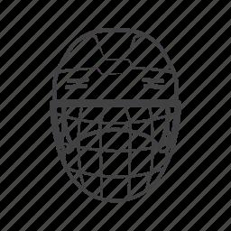 gear, head, hockey, protect, sport icon
