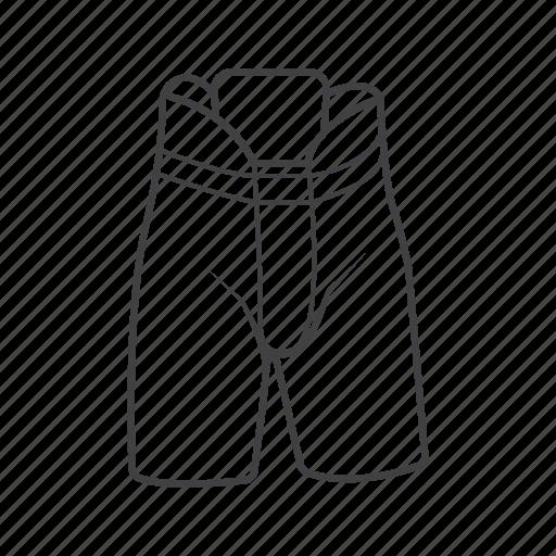 hockey, protective, short, uniform icon