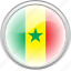 country, flag, flag senegal, senegal, worlds icon