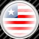 city, flag, flag liberia, liberia, nation