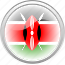 country, federation, flag, flag kenya, kenya icon