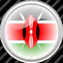 country, federation, flag, flag kenya, kenya