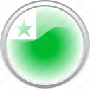 city esperanto, esperanto, flag, flag esperanto icon