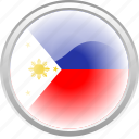 asia, flag, flag philippines, philippines, asian icon