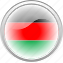 african, city, country, flag, flag african