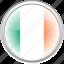 city, country, flag, flag ireland, ireland icon