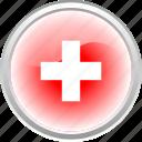 city, country, federation, flag, flag switzerland, switzerland