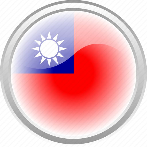 city, flag, flag taiwan, sun, taiwan icon