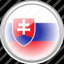 federation, flag, flag slovakia, nation, slovakia