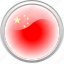 china, cina, city, country, flag, flag cina icon