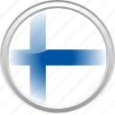 city finland, federation, finland, flag, flag finland icon
