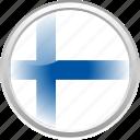 city finland, federation, finland, flag, flag finland