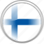 city finland, federation, finland, flag, flag finland icon