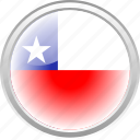 chile, city, country, flag, flag chilie icon