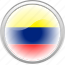 city colombia, colombia, country colombia, flag, flag colombia icon