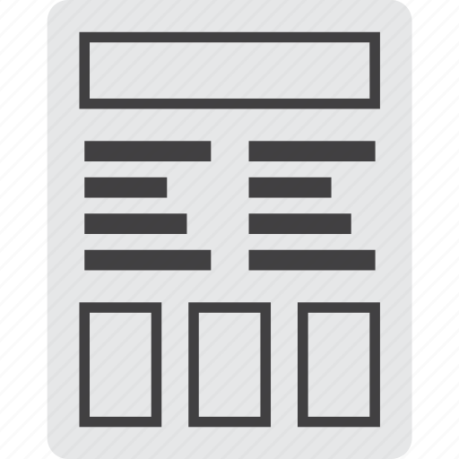 design, experience, inderface, user, ux, web, wireframe icon