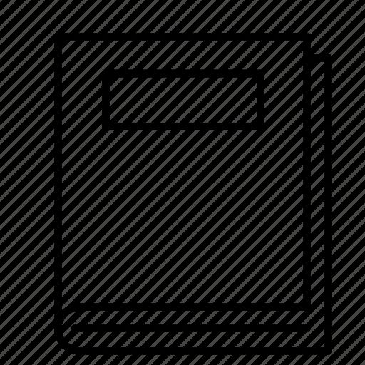 bast, book, bookmark, hardback, manuscript, tome, volume icon