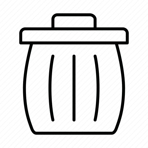 bin, dustbin, full, fullbin, trash, trash can, trashcan icon