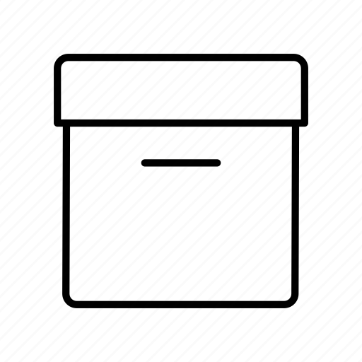 box, carton, case, data, database, package, storage icon