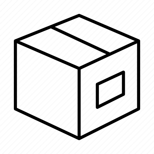 box, carton, case, delivery, package, shipping icon