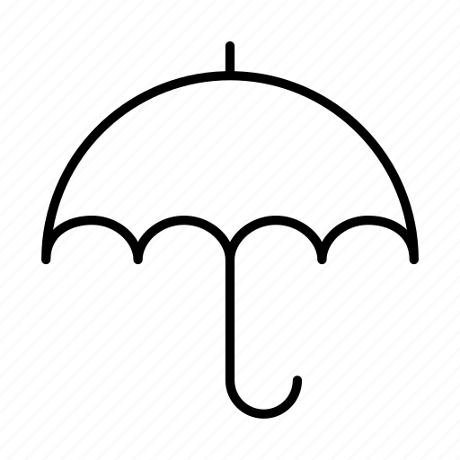 brolly, rain, umbrella icon