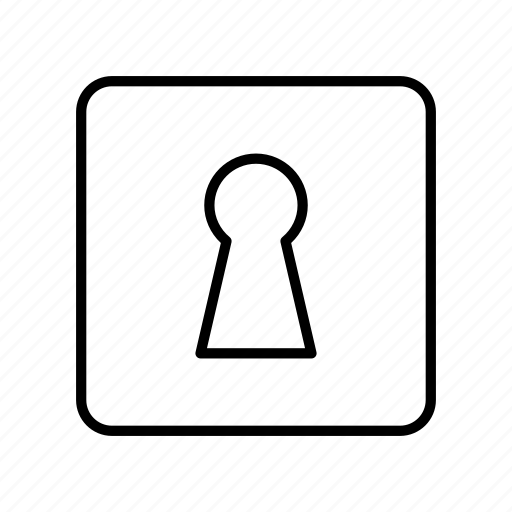 close, door lock, key lock, lock, password, protection, security icon