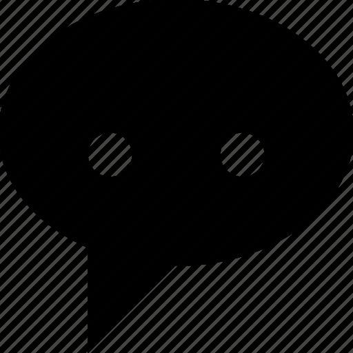 bubble, chat, comment, comments, speech, talk, text icon