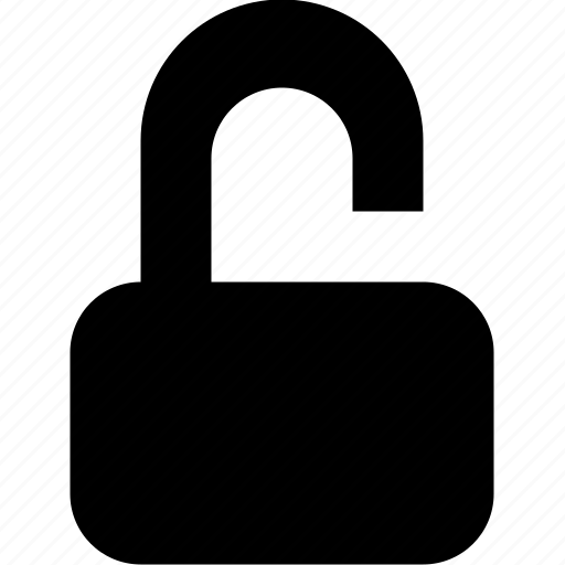 open, safety, unlock, unsafe icon
