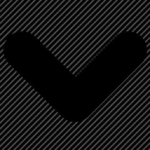 arrow, caret, down, download, next icon
