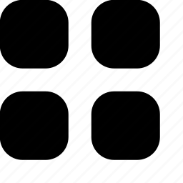 list, menu, square, squares, thumbnail icon