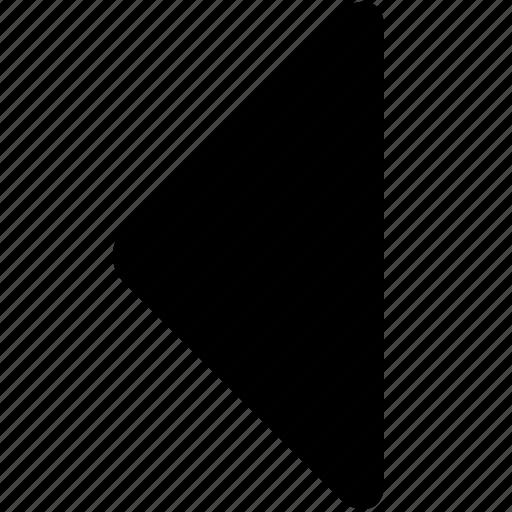 arrow, back, care, caret, left, previous icon