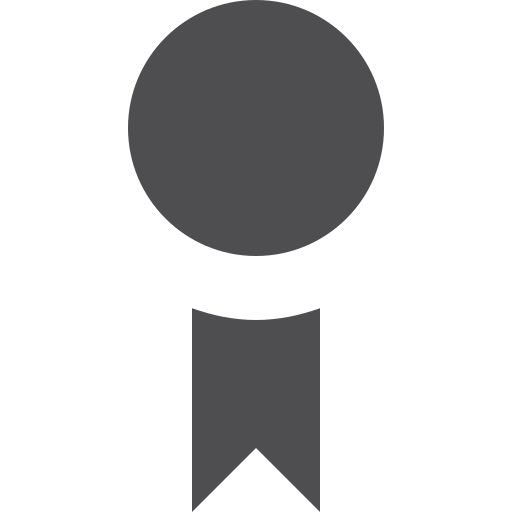 award, fill icon