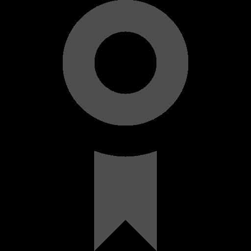 award, stroke icon