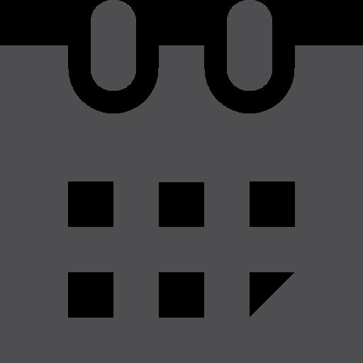 calendar, fill icon