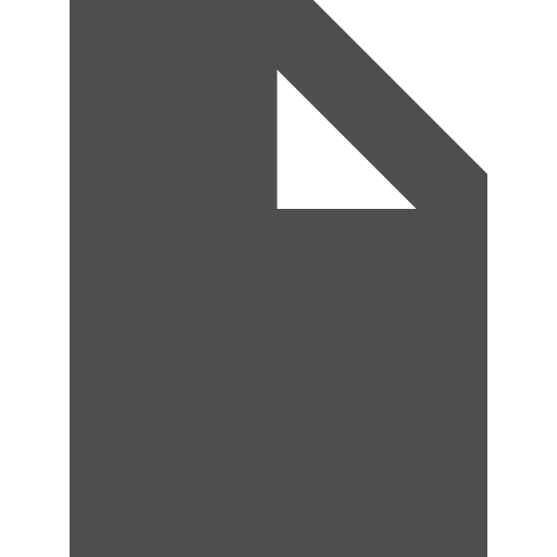 document, fill icon