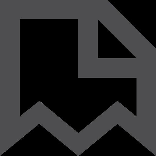 document, stroke icon