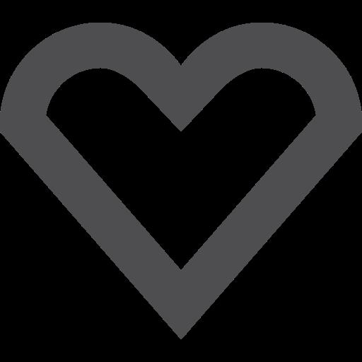 heart, stroke icon
