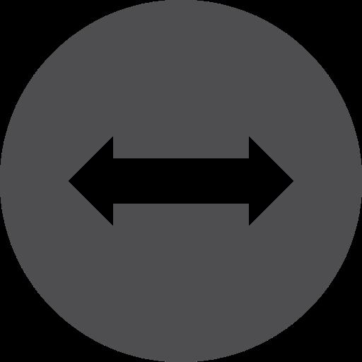 horizontal, move icon