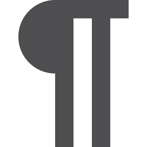 pilcrow icon